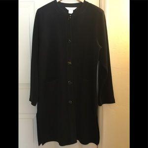 mistook black long jacket